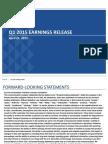 PNR Q1 2015 Earnings Presentation FINAL