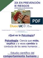 Duoc Uc Pn - Prevención de Riesgos - Psicología General - Sesion 2
