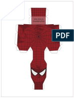 6 Arms Spider Man Paper Action by Sharkbomb-d32aviw