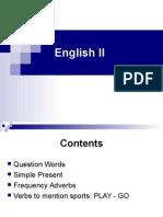 English II - Lesson I