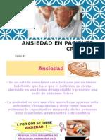 ANSIEDAD EN EL PACIENTE CRÓNICO