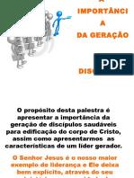 GERANDO DISCIPULOS SAUDAVEIS