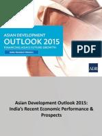 「アジア経済見通し」セミナー(2015年4月9日)配布資料(インド)