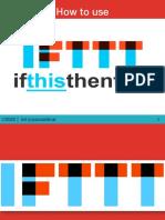 Ernest_Saldivar_How to Use IFTTT