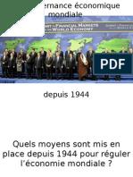 Gouvernance Eco Mondiale Depuis 1944 (1)