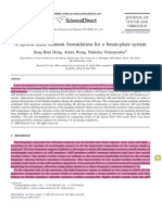 A Hybrid Finite Element Formulation for a Beam-plate System