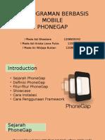 Pemrograman Berbasis Mobile