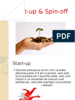 Start Up & Spin Off