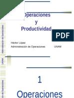 Operaciones y Productividad