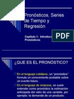 Pronostico - Serie de Tiempos