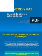 Perspectiva de Género y Cultura de la Paz