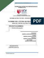 FORMATO FP10 Estructura Del Informe Final