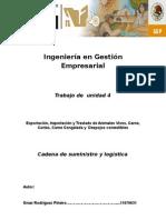 Ingeniería en Gestión Empresarial Cadena de Suministros
