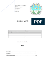 Trabajo Cycle of Water