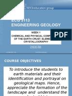 Wk 1 Crystallography
