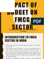 Impact of Budget on Fmcg Sector