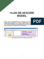 Planul de afaceri - model+ghid complet student