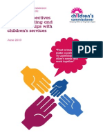 Family Perspectives on Safeguarding
