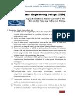 Detail Engineering Design