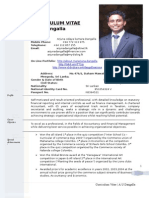 New CV Format