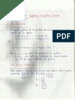 Chapitre 4 - Algebre Lineaire