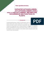Plant Lipid Biochemistry.docx