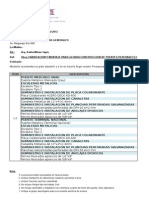Presupuesto Escaleras Metalicas - Tacna Nro 121