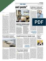 Terra Nera, malerba e Napoli all'Università - Il Corriere Adriatico del 6 maggio 2015