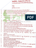 Mathematics 12th Class Guess Paper 2015 Lahore Board
