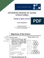 Design of Glass Column