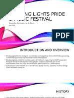 blinding lights pride & music festival sponsorship