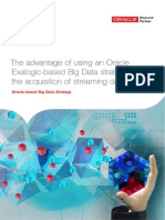The Advantage of Using an Oracle Exalogic-based Big Data Strategy for the Acquisition of Streaming Data (1)