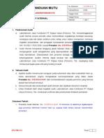 Panduan Mutu 4.14 Audit Internal