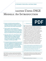 Policy Analysis Using DSGE Models - Introduction
