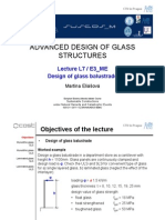 Design of Glass Balustrade