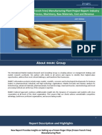 Frozen Finger Chips Manufacturing Plant | Market Trends, Cost