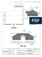 Warehouse project Structural plan and Floor Plan