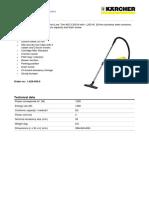 Karcher WD 3.330 Wet N Dry Vac Manual