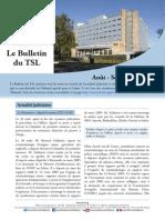 Bulletin du TSL - Août Septembre 2014
