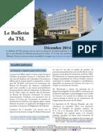 Bulletin du TSL - Décembre 2014 Janvier 2015