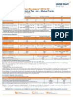 Mirae Asset Tax Reckoner 2014-15