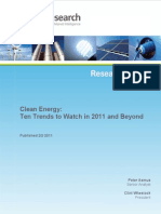 Clean Energy Trends 2011-Pike-Research