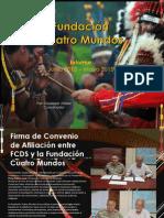 Informe - La Fundación Cuatro Mundos - Junio, 2013 - Mayo, 2015