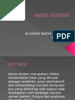 ABSES SEREBRI PPT