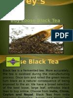 Grey's Teas- Buy Loose Black Tea Online UK