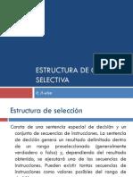 Estructura de Control-If
