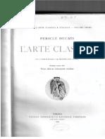 Pericle Ducati - L'arte Classica - Periodo Primo