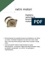 Digitalno Upravljanje Koracnim Motorima