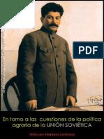 Iósif Stalin; En torno a las cuestiones de la política agraria de la Unión Soviética, 1929.pdf