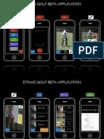 Etihad Golf App